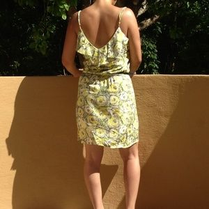 Dresses & Skirts - Ruffle Flower Print Dress